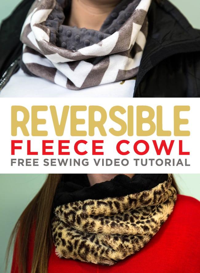 Reversible Cuddle Cowl