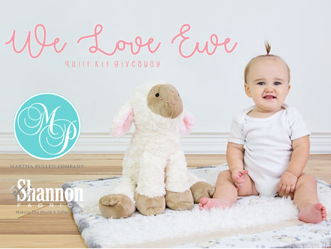 We Love Ewe Quilt Kit Giveaway with Martha Pullen Co