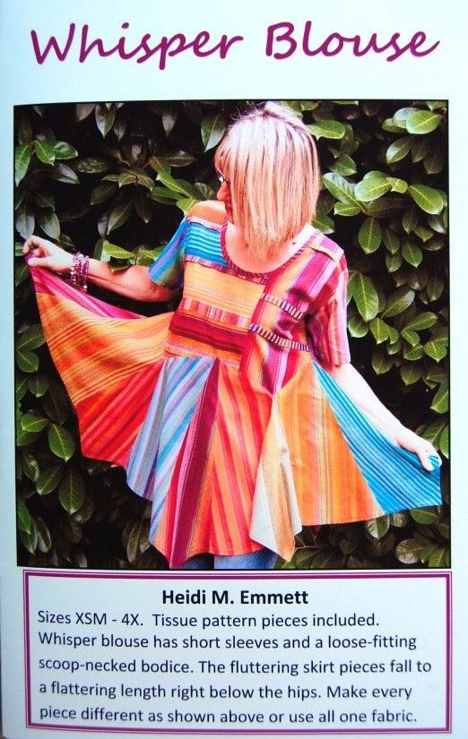 Whisper Blouse by Heidi Emmett