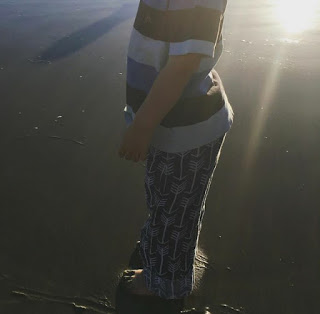 Embrace double gauze baby pants longer