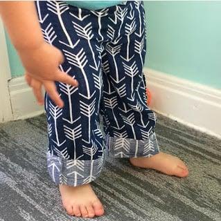 Embrace double gauze baby pants