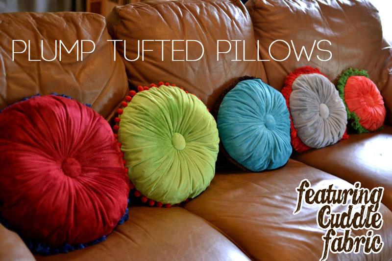 plump pillows