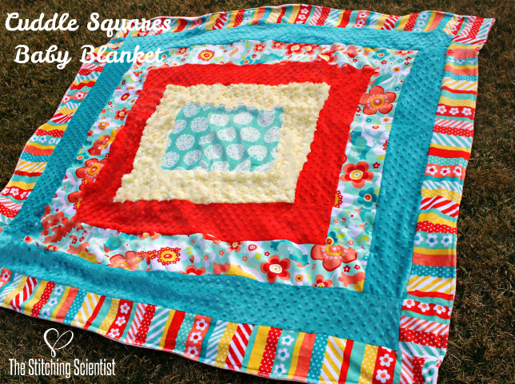 Cuddle Squares Baby Blanket