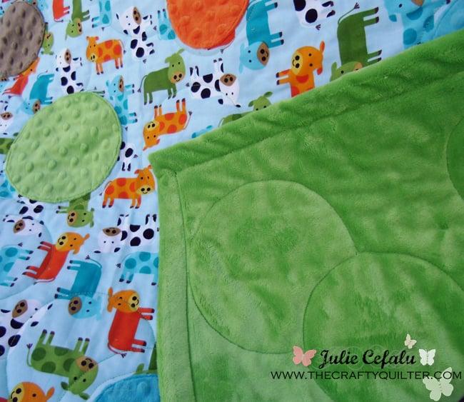 cuddle quilt back corner copy