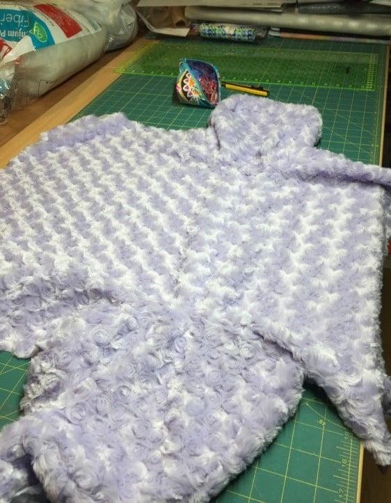 fabric flat