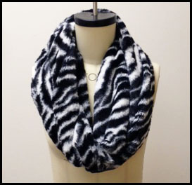 Cuddle Fabrics Infinity Scarf Tutorial & Giveaway!