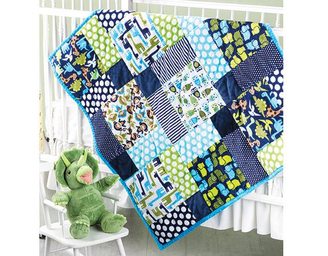 hugs and snuggles baby quilt