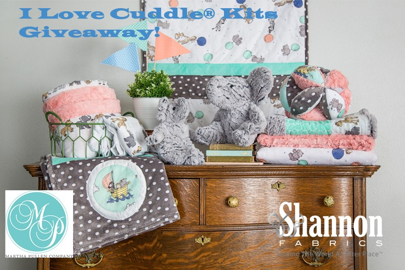 i love cuddle kits image with text and logos