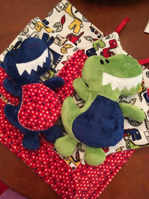Shannon Fabrics cute dinosaur baby gifts