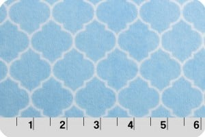 Lattice Cuddle Baby Blue