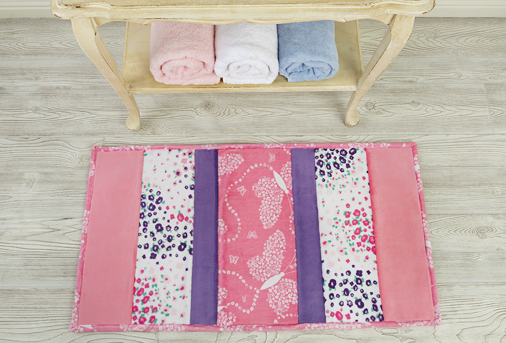 bath mat cuddle fabric