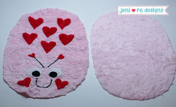 luv bug finished front and back