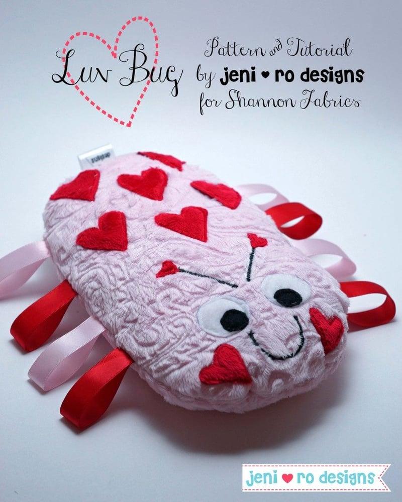 Hugs, Hearts and Happy Valentine's Day from Shannon Fabrics