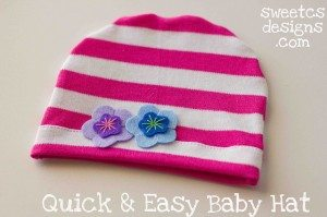 quick and easy baby hat