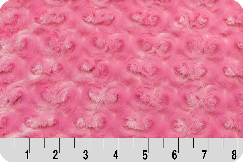 Rose Cuddle Hot Pink - lovely for so many sewing projects