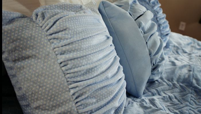 Sew a Cuddle Ruched Pillow Cover
