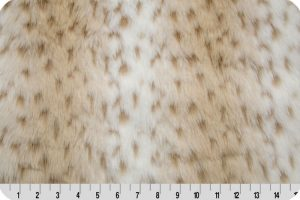 Snow Leopard Faux Fur
