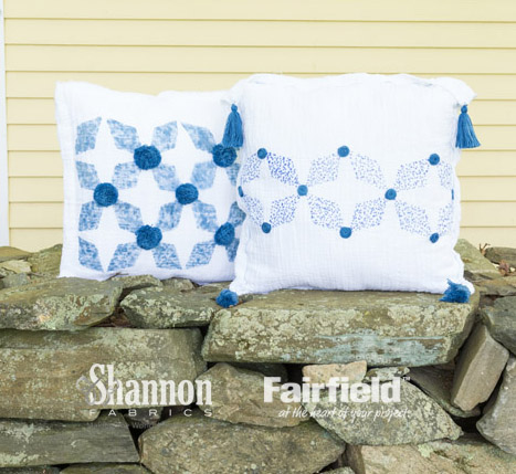 two pillows (003) with watermarks