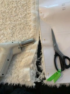 Cutting Luxe Llama the Cleaner Way
