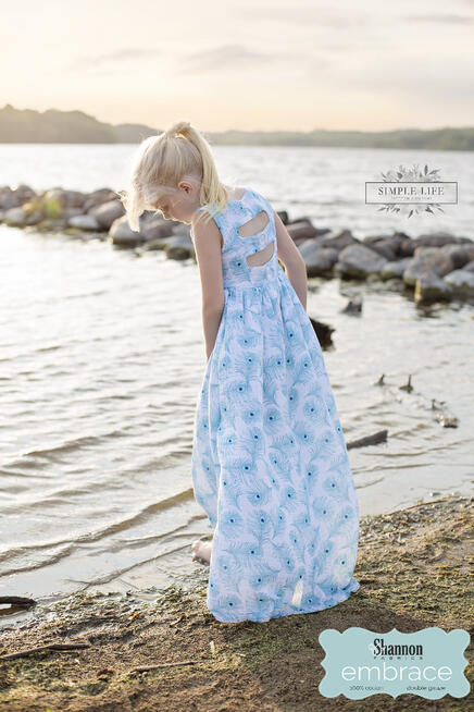 Embrace Double Gauze and Simple Life Pattern Company - a perfect match of fabrics and sewing patterns!