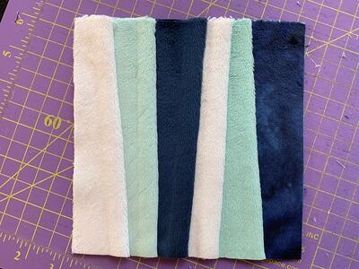 How to Make a Foundation Paper Piecing Quilt with Cuddle® Minky Plush Fabric (Tutorial & Free Pattern)