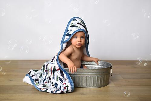 How to Sew a Hooded Towel (Free Hooded Towel Tutorial & Sewing Pattern)