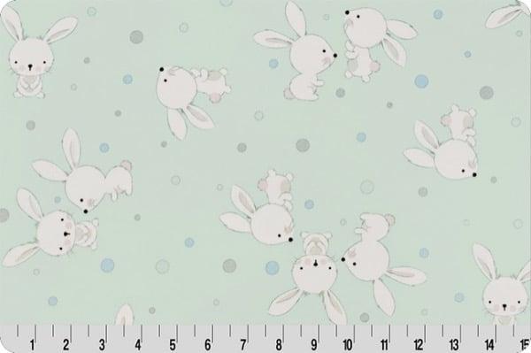 Spring Fabrics_cottontail digital cuddle honeyew