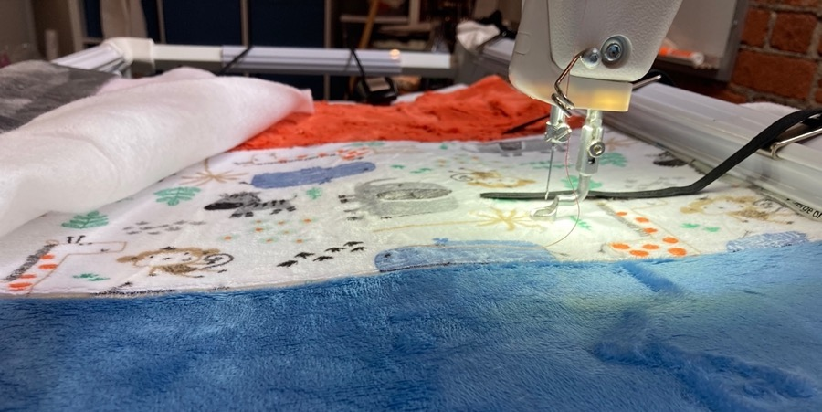 Longarm Quilting Tips for Cuddle® Minky Fabric