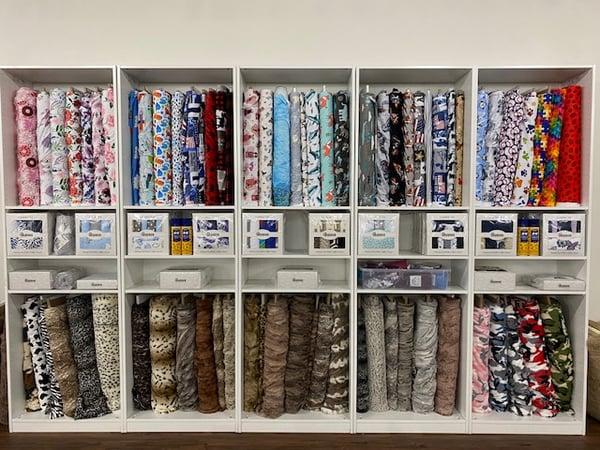 cali quilt co shannon fabrics cuddle