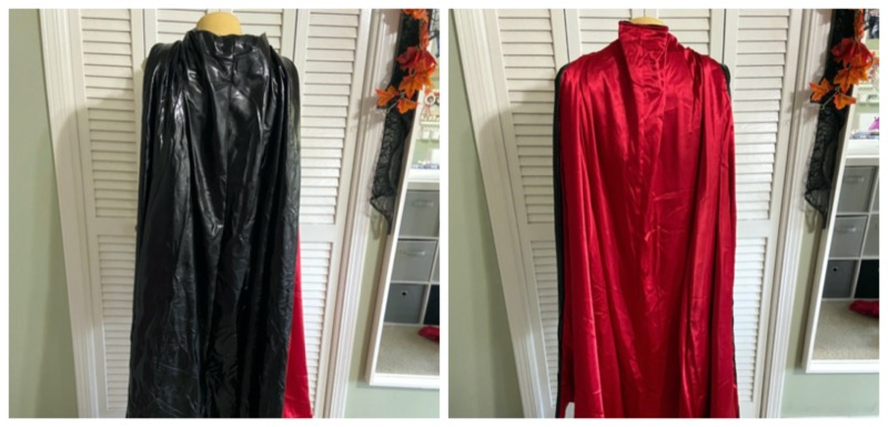 how to sew batwoman costume cape