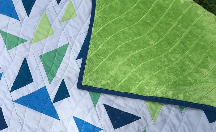 Quilting with Cuddle® Minky Plush Fabric