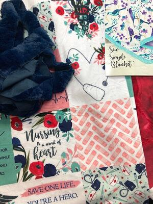 how to sew a minky fabric blanket