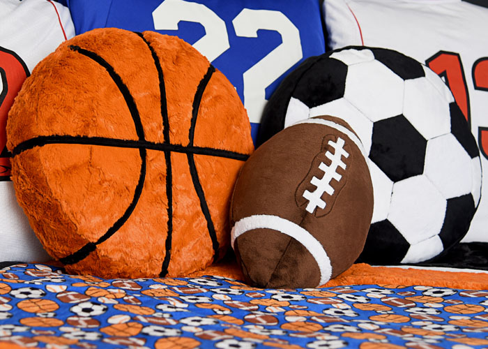 Fun Minky Sewing Projects and Fabrics for Sports Fans