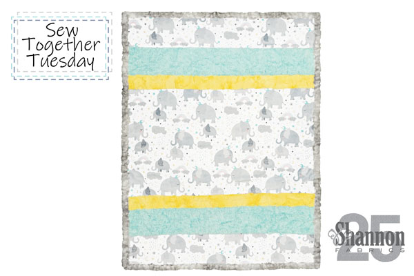 how to sew a strip quilt with pattern complete