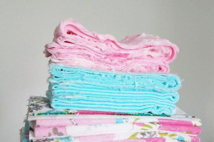 Minky plush fabric washing and drying tips