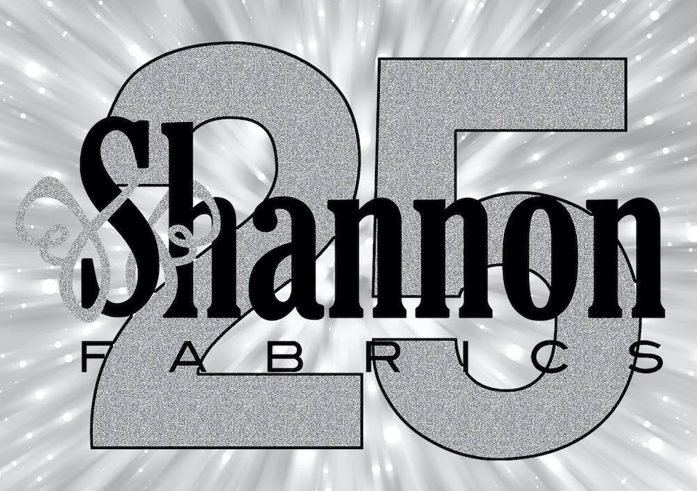 shannon fabrics 25th anniversary