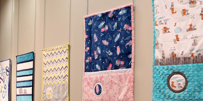 minky fabric, shannon fabrics accuquilt