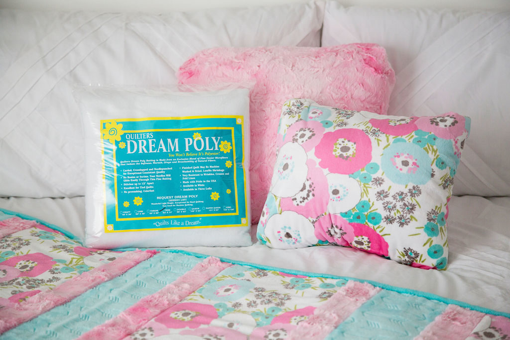 dream poly minky quilt how to