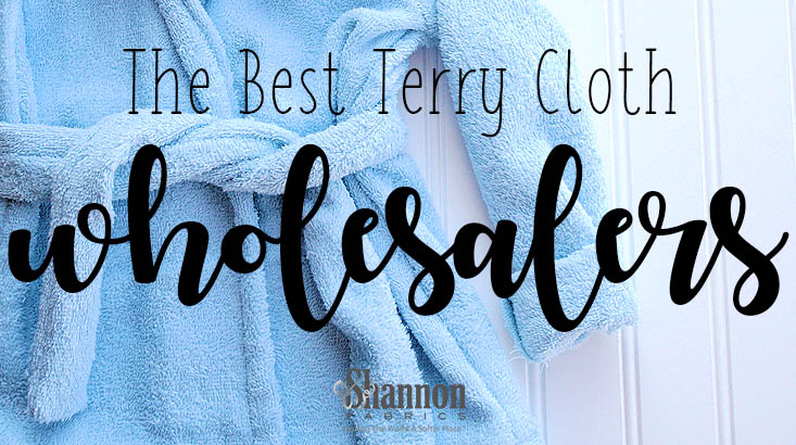 best terry cloth wholesalers