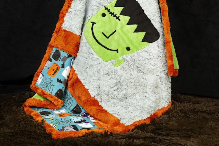 halloween minky plush fabric