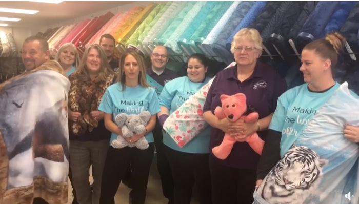 nuttall's sewing centers team