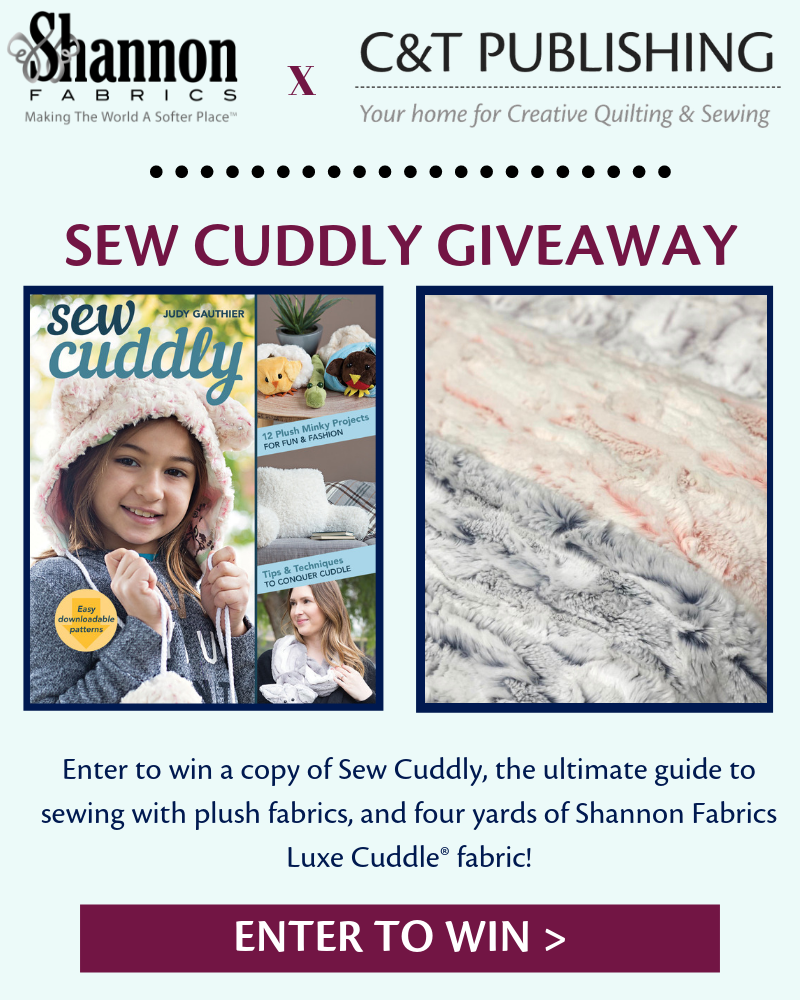 shannon fabrics c&T publishing fabric giveaway
