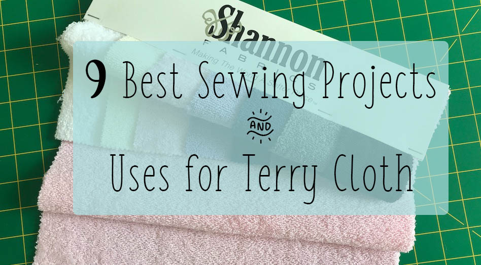 terry cloth sewing projects